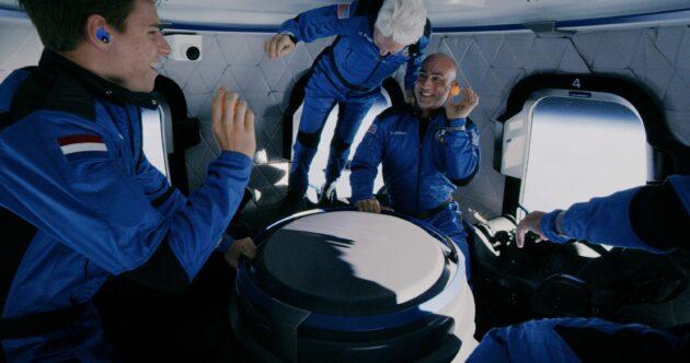 Crew activities in zero-G