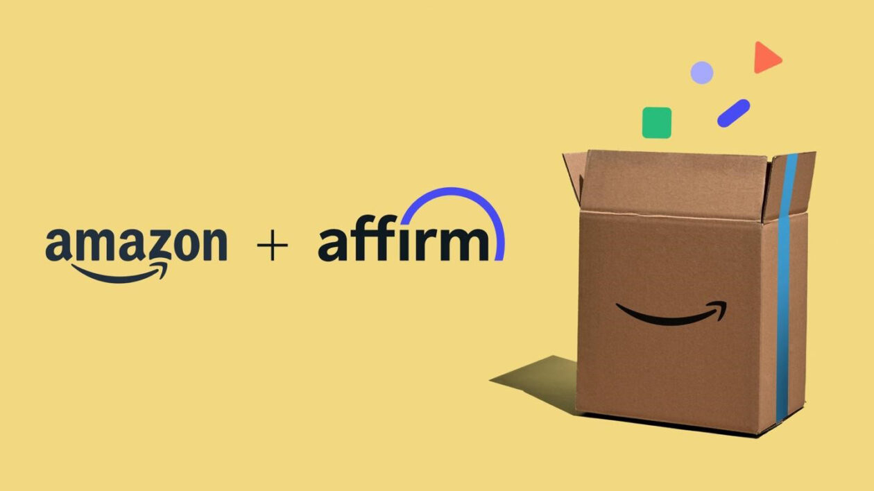 Amazon will offer 'buy now, pay later' option via partnership with Affirm