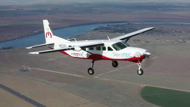 MagniX测试飞机