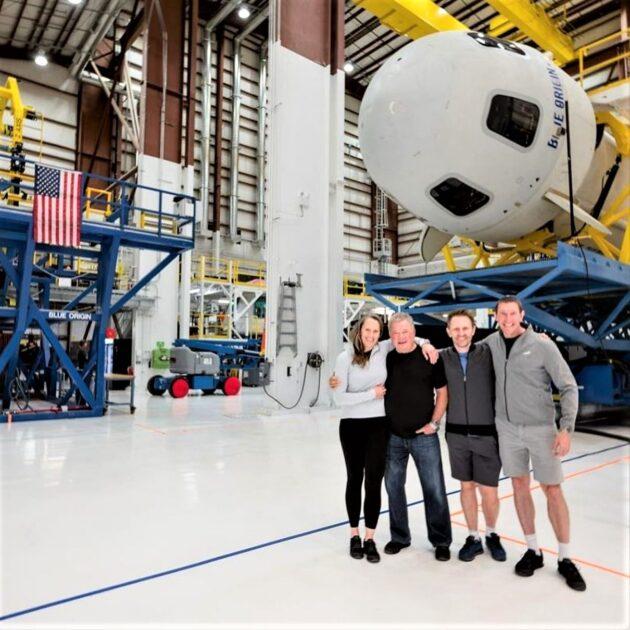New Shepard crew portrait