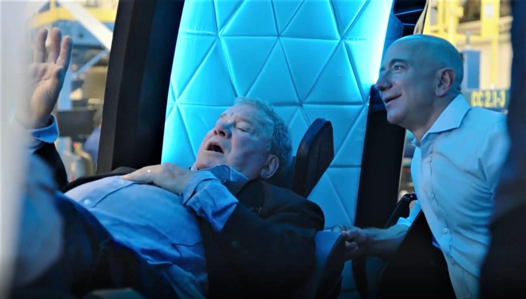 How to watch William Shatner beam up on Blue Origin's spaceship
