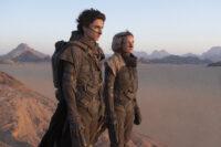 "Timothy Chalamet和Rebecca Ferguson在""沙丘"""