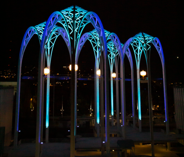Light the lamp — and the arches: Seattle landmark will put on display to celebrate Kraken hockey goals